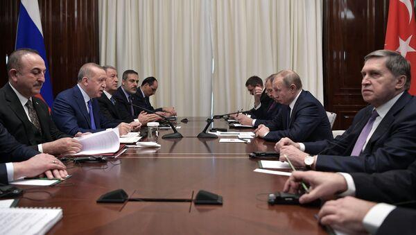 Поездка президента РФ В. Путина в Берлин для участия в Международной конференции по Ливии - Sputnik Ўзбекистон