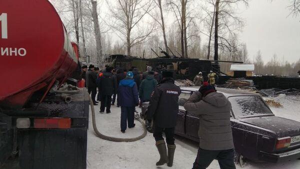 Пожар в Томской области - Sputnik Узбекистан