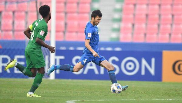 Полуфинал чемпионата Азии U-23 между сборными Узбекистана и Саудовской Аравии - Sputnik Узбекистан