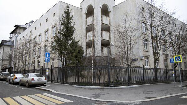 Zdaniye konsulstva Uzbekistana v Moskve - Sputnik Oʻzbekiston