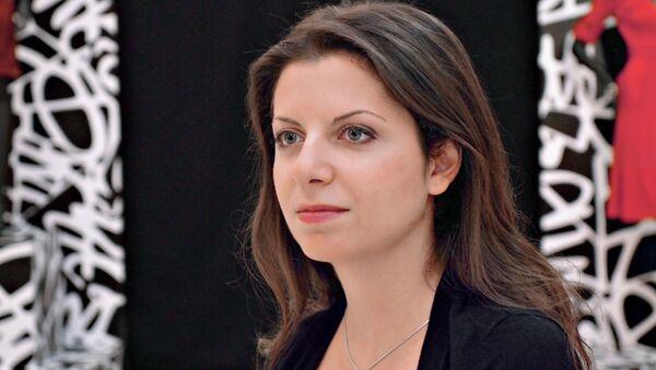 Glavnыy redaktor telekanala RT i MIA Rossiya segodnya Margarita Simonyan. - Sputnik Oʻzbekiston