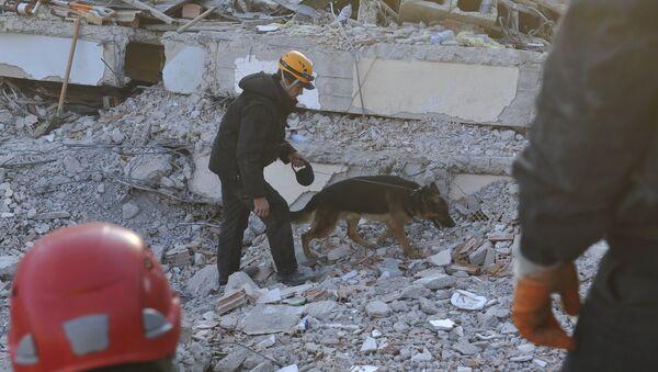 Последствия землетрясения в Турции - Sputnik Узбекистан