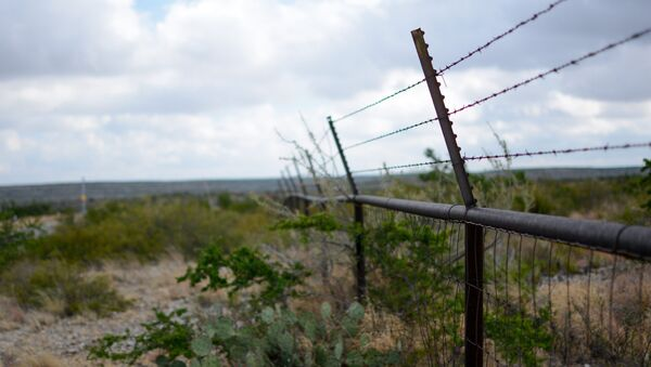 Забор с колючей проволокой - Sputnik Узбекистан