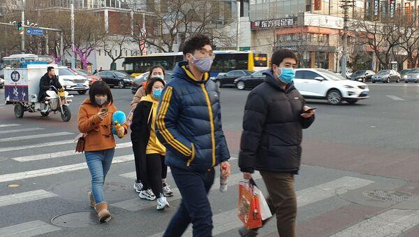Распространение коронавируса нового типа в Китае - Sputnik Узбекистан