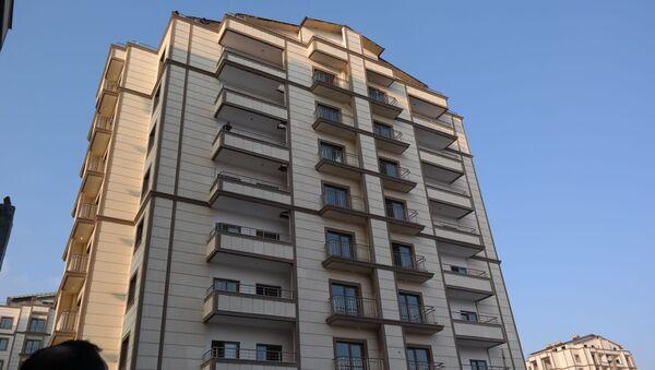 Строительство многоэтажных домов в Яккасарайском районе Ташкента - Sputnik Ўзбекистон