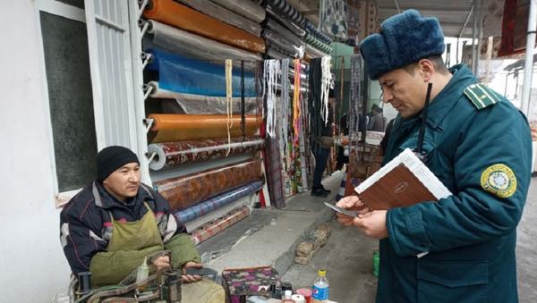 Ножевая полиция: в Андижане затупили острие ножей на рынках - Sputnik Узбекистан