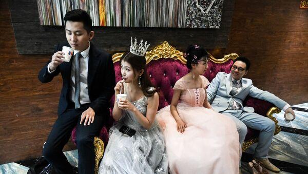 Свадьба в Пекине - Sputnik Узбекистан