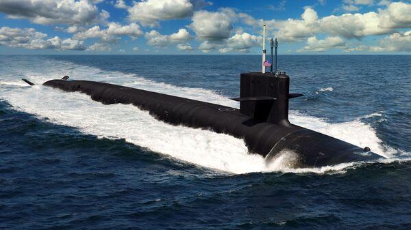 Иллюстрация будущей американской подлодки класса Columbia - Sputnik Ўзбекистон