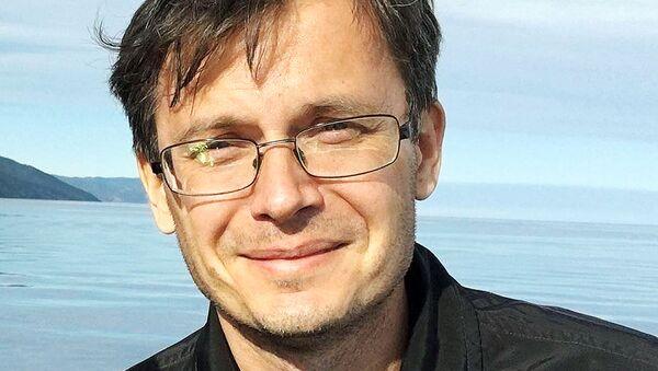 Максим Пядушкин — управляющий директор  журнала  Авиатранспортное обозрение - Sputnik Узбекистан