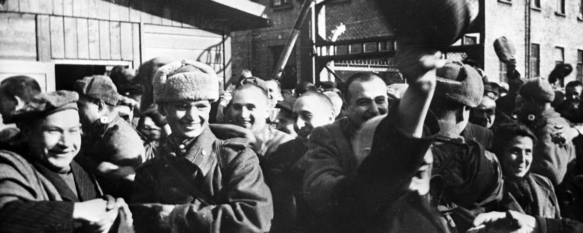 Невежество или четкий план: почему освобождение Освенцима приписывают американцам - Sputnik Узбекистан, 1920, 30.01.2020