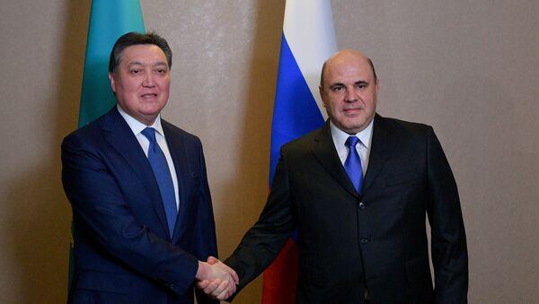 Рабочий визит премьер-министра РФ М. Мишустина в Казахстан - Sputnik Узбекистан