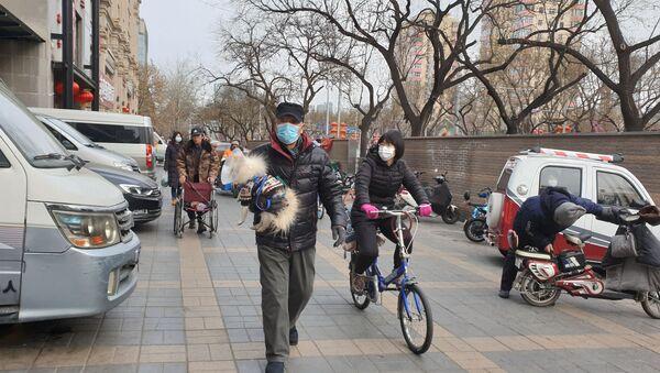 Ситуация в Пекине в связи с эпидемией коронавируса - Sputnik Ўзбекистон