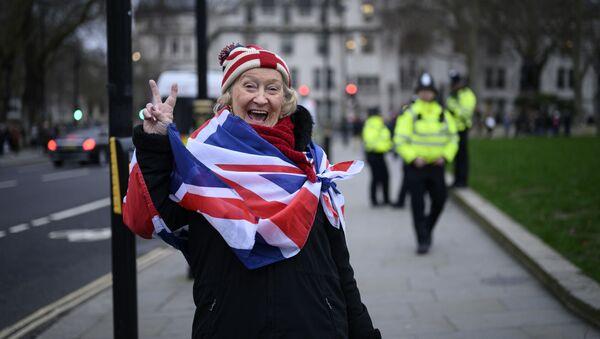 Великобритания покинула ЕС, завершив длившийся три с половиной года процесс, обернувшийся расколом в обществе. - Sputnik Ўзбекистон