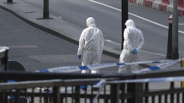 Ситуация на месте теракта в Лондоне - Sputnik Узбекистан