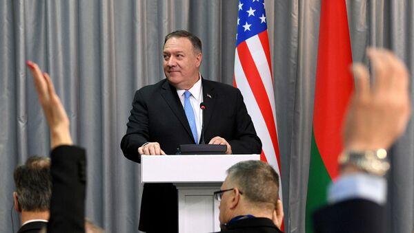 Визит госсекретаря США М. Помпео в Минск - Sputnik Ўзбекистон