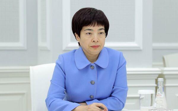 Встреча хокима Ташкента Джахонгира Артыкходжаева и посла Китая в Узбекистане Цзян Янь - Sputnik Узбекистан