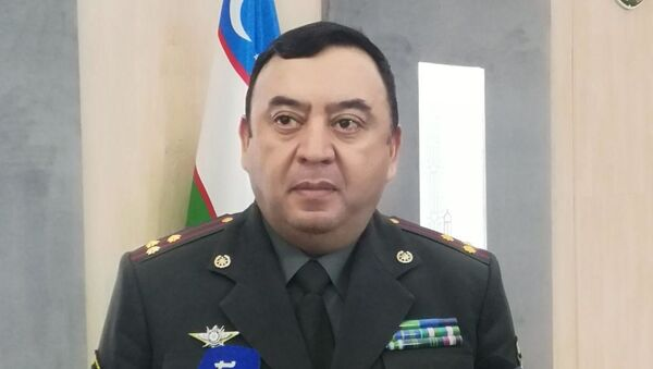 Фарходжон Шерматов начальник главного управления кадров Министерства обороны РУз - Sputnik Узбекистан