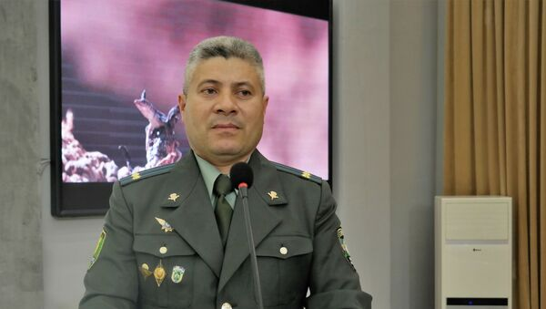 Начальник управления информации и массовых коммуникаций Министерства обороны Узбекистана Бахром Зульфикоров - Sputnik Ўзбекистон
