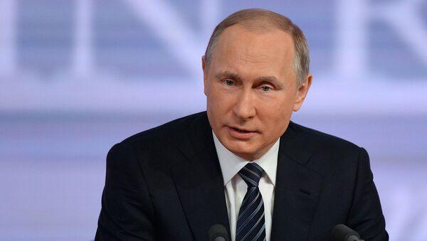 Россия президенти Владимир Путин. - Sputnik Ўзбекистон