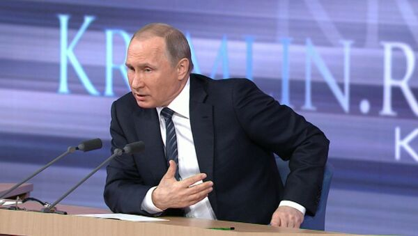 Владимир Путин. - Sputnik Ўзбекистон