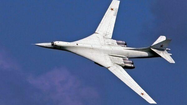 Модернизированный Ту-160М впервые поднялся в воздух - Sputnik Ўзбекистон