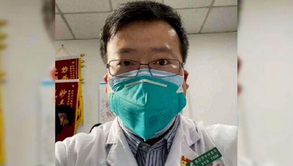 Ли Вэньлян - врач который первый сообщил о коронавирусе - Sputnik Ўзбекистон