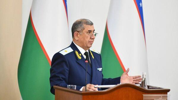 Generalnыy prokuror Uzbekistana Nigmatilla Yuldashev. - Sputnik Oʻzbekiston
