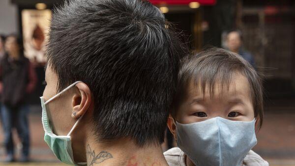 Ситуация в Гонконге в связи с коронавирусом - Sputnik Ўзбекистон