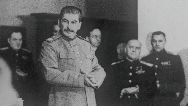 Иосиф Сталин. Архивное фото. - Sputnik Узбекистан