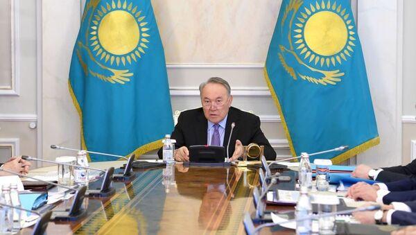 На заседании Совета Безопасности под председательством Елбасы рассмотрели ситуацию в Кордае - Sputnik Ўзбекистон
