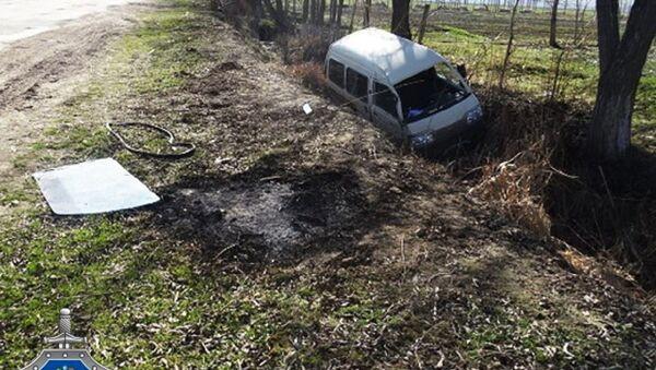 Угнанный автомобиль Дамас - Sputnik Узбекистан
