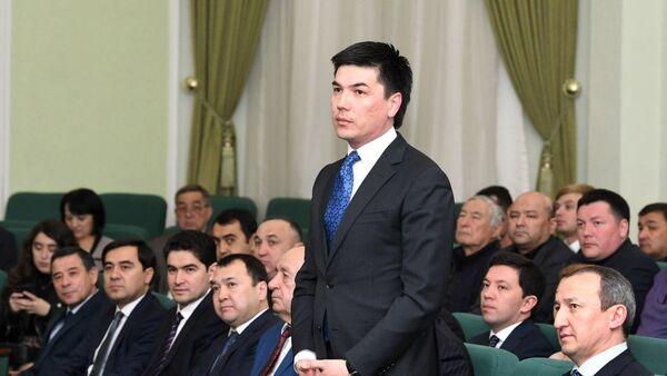 Ойбек Касимов избран на пост Генерального секретаря Национального олимпийского комитета Узбекистана - Sputnik Ўзбекистон