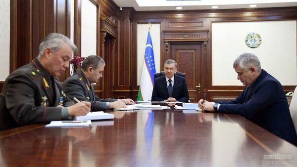 Обсуждены вопросы повышения эффективности системы охраны и защиты Государственной границы - Sputnik Узбекистан