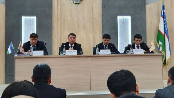 Press-konferentsiya v Ministerstve Energetiki - Sputnik Oʻzbekiston