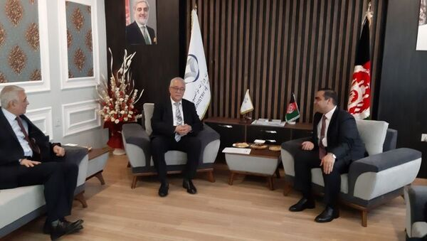 Спецпредставитель Узбекистана Исматулла Иргашев на переговорах в Афганистане - Sputnik Узбекистан