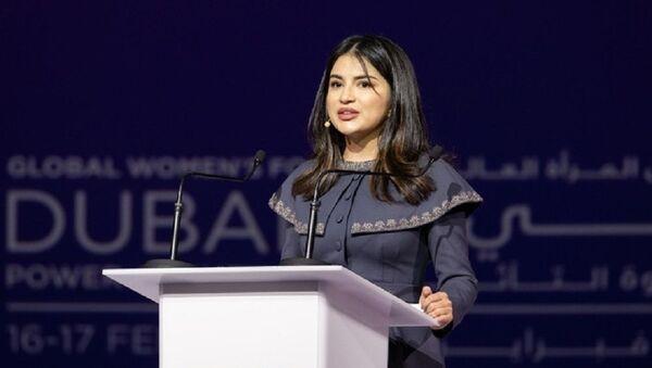 Узбекским женщинам есть что сказать миру: выступление Саиды Мирзиёевой в Дубае - Sputnik Узбекистан