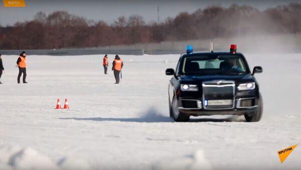 Лимузины Aurus приняли участие в соревнованиях гаража особого назначения - Sputnik Ўзбекистон