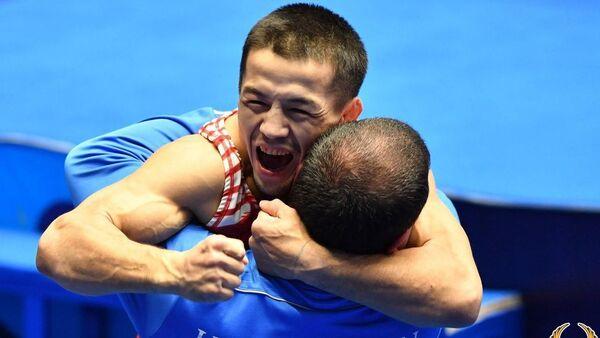 Узбекистанец Эльмурат Тасмурадов в пятый раз завоевал золотую медаль чемпионата Азии - Sputnik Узбекистан