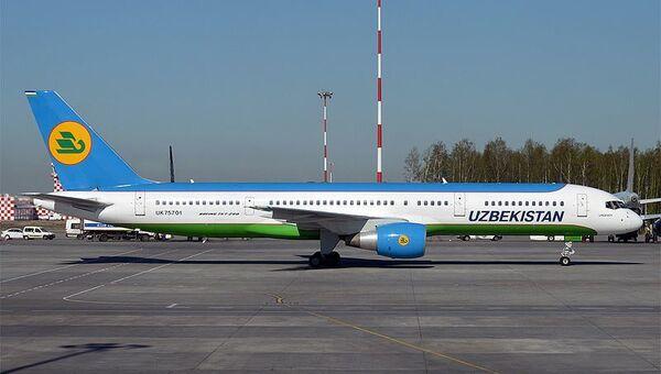 Boeing 757-200 - Sputnik Узбекистан