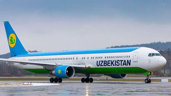 Boeing 767- 3 CBER - Sputnik Узбекистан