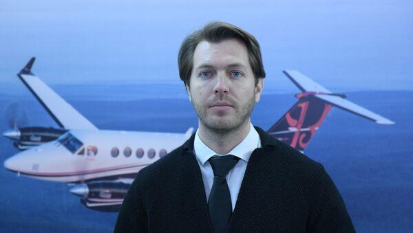 Представитель компании Eastuninon (Busines Aviation) Артем Акимов - Sputnik Узбекистан
