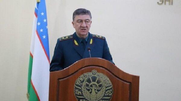 Министр внутренних дел Узбекистана генерал-лейтенант Пулат Бобожонов - Sputnik Узбекистан