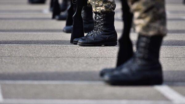 Архивное фото военнослужащих - Sputnik Ўзбекистон