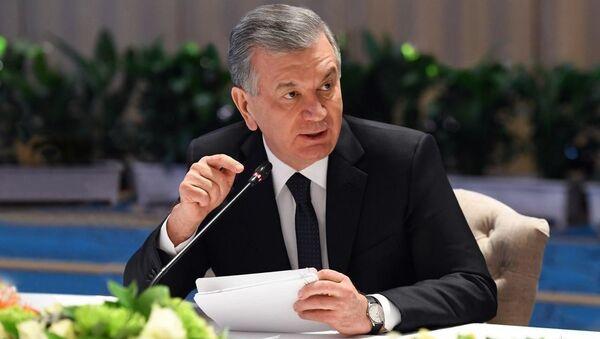 Президент Шавкат Мирзиёев в Анкаре провел встречу с главами ведущих турецких компаний и банков - Sputnik Ўзбекистон