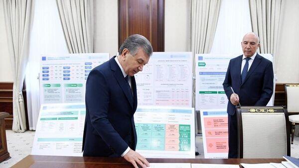 Шавкат Мирзиёев провел совещание по очередным важным задачам в сфере развития системы здравоохранения, повышения качества медицинского обслуживания. - Sputnik Ўзбекистон