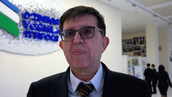 Начальник центра Академии генеральной прокуратуры Бахадыр Исмаилов - Sputnik Ўзбекистон