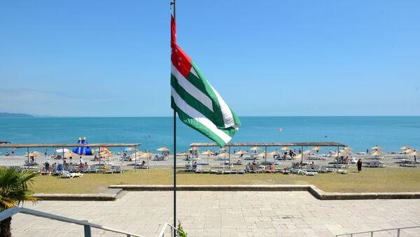 Флаг Абхазии - Sputnik Ўзбекистон