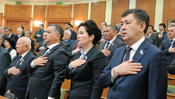 Заседание Сената Олий Мажлиса 28 февраля 2020 года - Sputnik Ўзбекистон