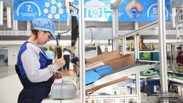 В Технопарке введено в строй современное предприятие - Sputnik Узбекистан