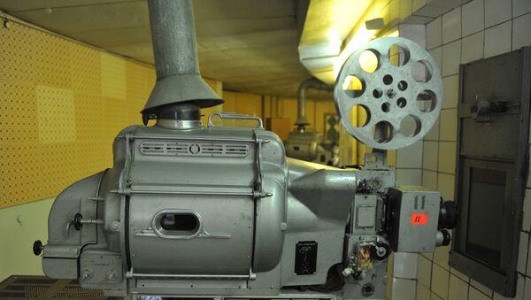 Кинопроектор в аппаратной - Sputnik Узбекистан